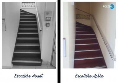 Escaliers Caisse d'Épargne